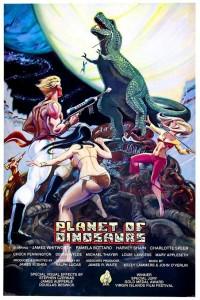 Planete des dinosaures affiche 1978