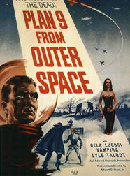 Plan 9 from outer space affiche 1959
