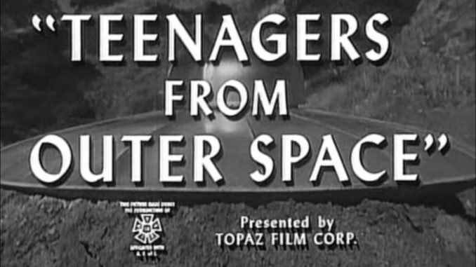 Teenagers from Outer Space – L'Invasion Martienne (1959)