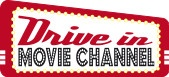 Drive in movie channel logo
