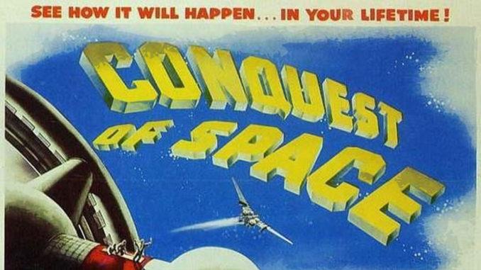 la conquête de l'espace conquest of space