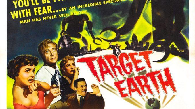 target earth objectif terre 1954