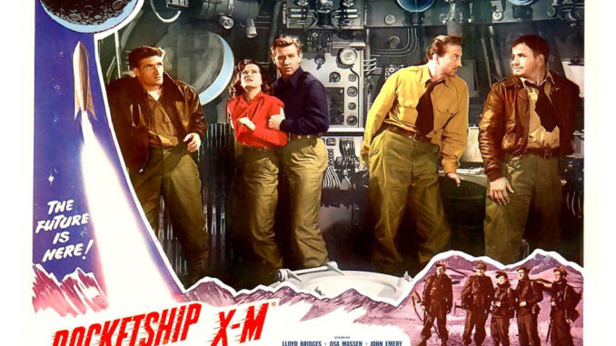 Vingt-quatre heures chez les Martiens - Rocketship X-M (1950)
