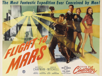 destination mars flight to mars 1951