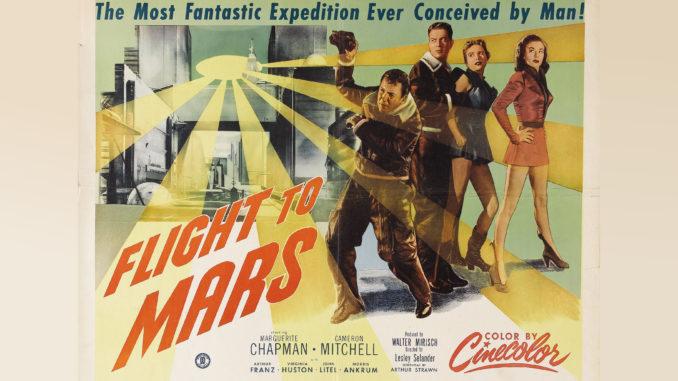destination mars flight to mars 1951