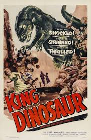 King Dinosaur 1955 vertical