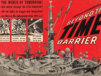 beyond the time barrier le voyageur de l'espace 1960