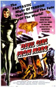 La Martienne Diabolique Devil Girl from Mars