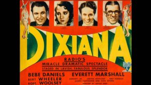 dixiana 1930 programme drive in movie channel