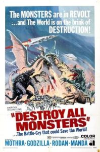 Les Envahisseurs Attaquent Destroy all Monsters Godzilla 1968