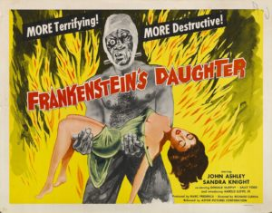 La fille de frankenstein 1958 ptogramme drive in movie channel