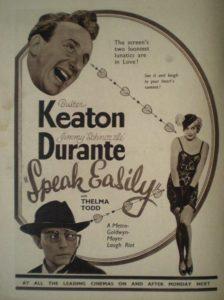 speak easily le professeur buster keaton 1932
