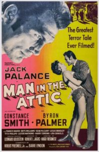 Man in the attic Drive in movie channel programme tv