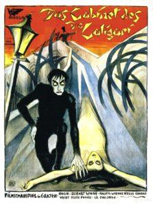 Le cabinet du docteur Caligari 1920 programme drive in movie, channel
