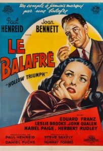 Le Balafré the scar 1948 programme drive-in movie channel